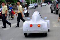 Nhóm sinh viên Đồng Nai sáng chế xe 4 bánh dùng cồn: 1 lít chạy được 200km