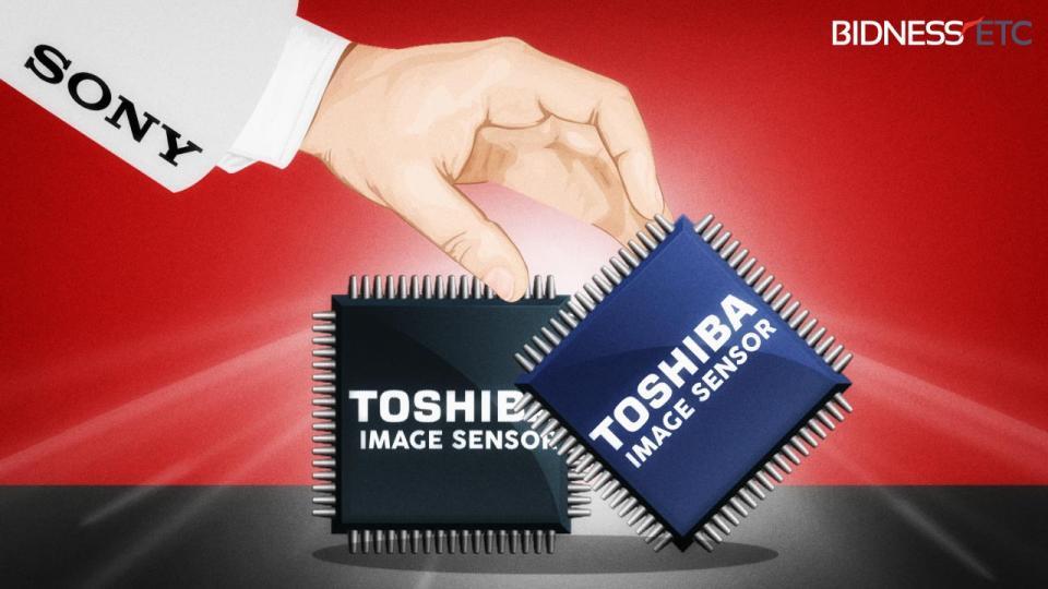 Sony mua mảng cảm biến ảnh của Toshiba giá 155 triệu USD