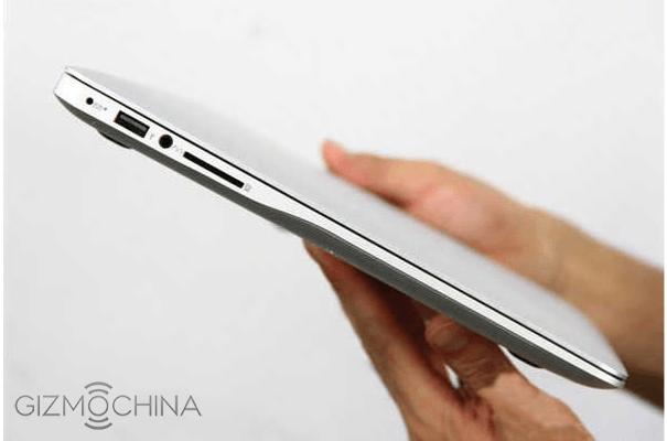 Xiaomi Notebook: bản sao Macbook Air cấu hình Core i7, RAM 8GB
