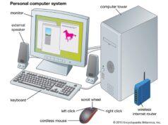 Máy vi tính là gì? Cấu tạo của máy vi tính gồm những gì?