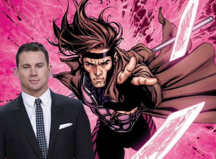Gambit's signature weapon is a deck of playing cards. He charges them with kinetic energy, basically turning them into grenades. The film is due for an October 7, 2016 release.