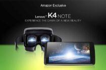 Lenovo K4 Note: tích hợp vân tay, công nghệ VR, TheatreMax