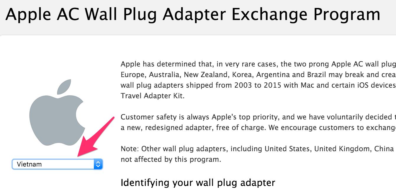 Apple thu hồi sạc Macbook, iPhone vì nguy cơđiện giật, có hỗ trợ cả Việt Nam