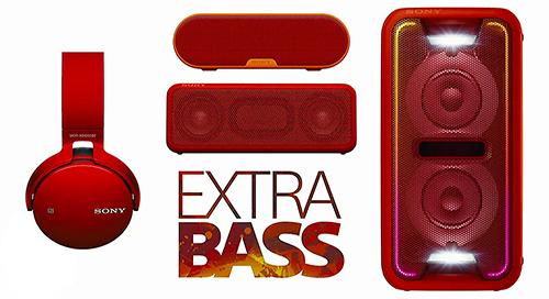 [CES 2016] Sony Extra Bass Audio: âm bass mạnh mẽ và tích hợp nhiều tính năng hiện đại