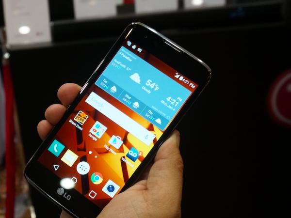LG K Series ra mắt tại triển lãm công nghệ lớn nhất thế giới CES 2016