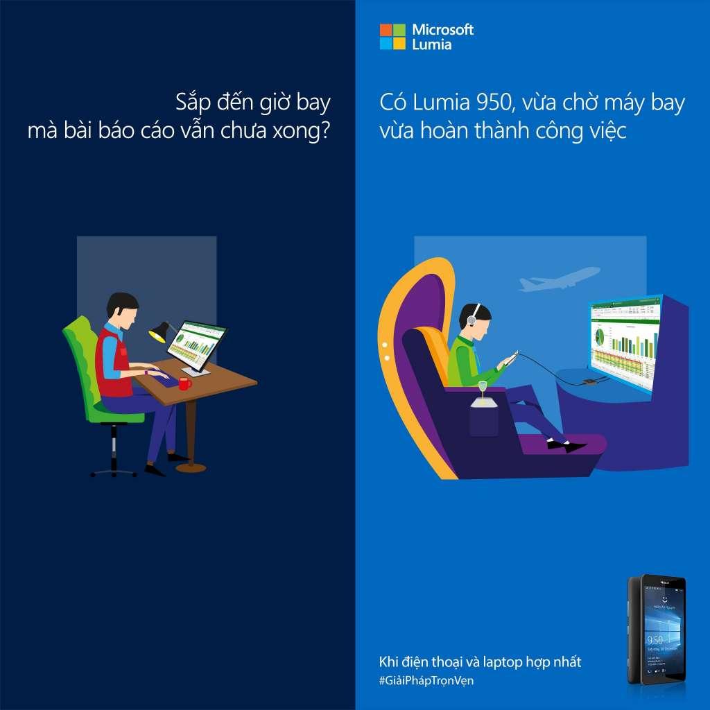 Microsoft tổ chức 20 ngày trải nghiệm Lumia 950 và 950 XL, có tham dự bốc thăm trúng thưởng