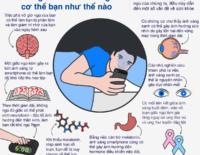 Infographic: não và cơ thể bạn bị ánh sáng smartphone ảnh hưởng thế nào