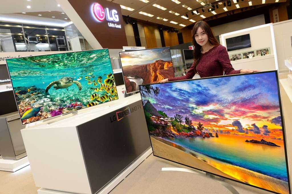 [CES 2016] Series TV Super UHD của LG chào sân ấn tượng