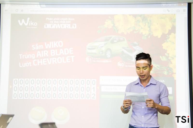 Wiko mở đợt quay số thứ 3 chương trình 'Sắm WIKO - Trúng Air Blade - Lướt Chevrolet'