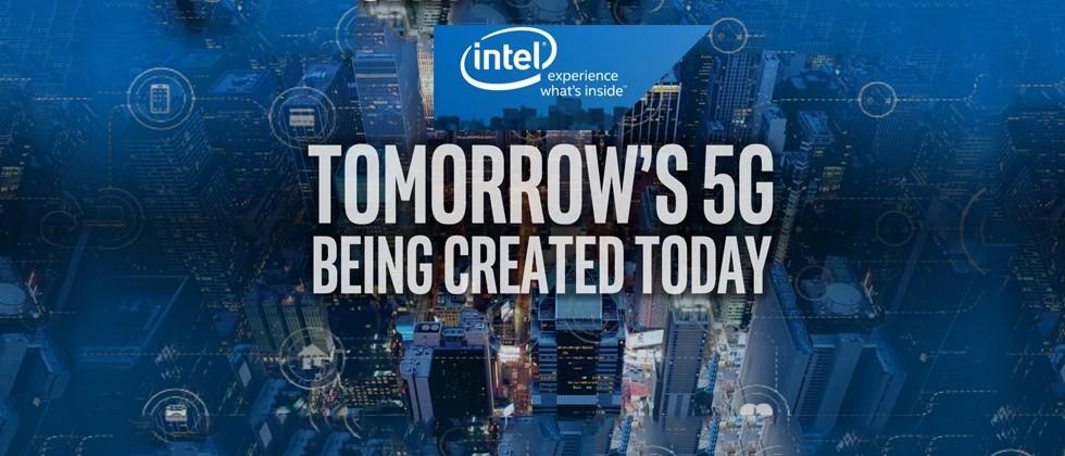 Intel thử nghiệm công nghệ không dây 5G trên xe hơi thế hệ mới.