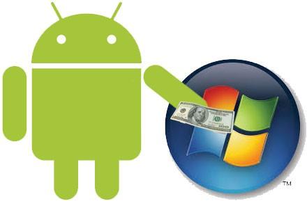 Microsoft: nhà sản xuất smartphone Android đồng ý hoặc phải trả tiền