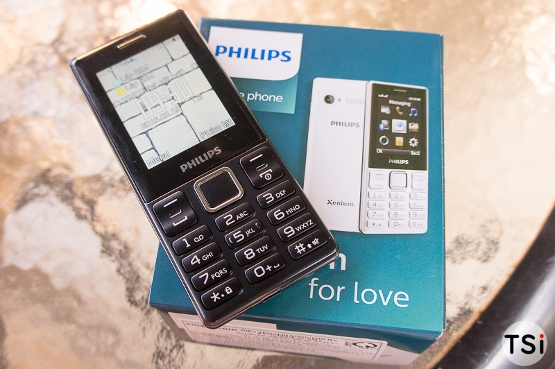 Mở hộp điện thoại Philips E170: Vỏ nhựa, 2 SIM, tính năng Bluetooth tốt nhưng giá còn cao