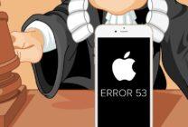 """Lỗi """"error 53"""" làm Apple dính vào một vụ kiện mới"""