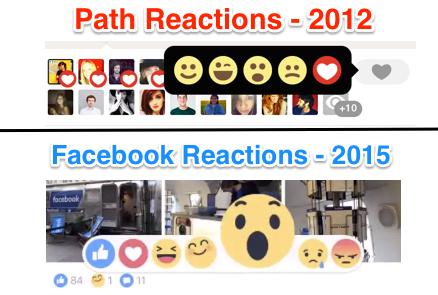 Facebook chính thức có thêm 5 nút cảm xúc bên cạnh nút Like