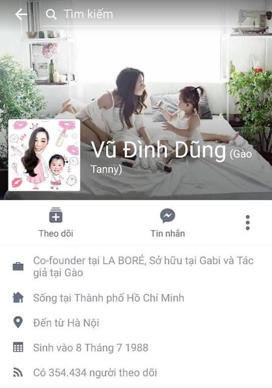 Tài khoản Facebook bị đổi tên thành Vũ Đình Dũng: thay đổi email đăng nhập sẽ tránh bị tình trạng này.