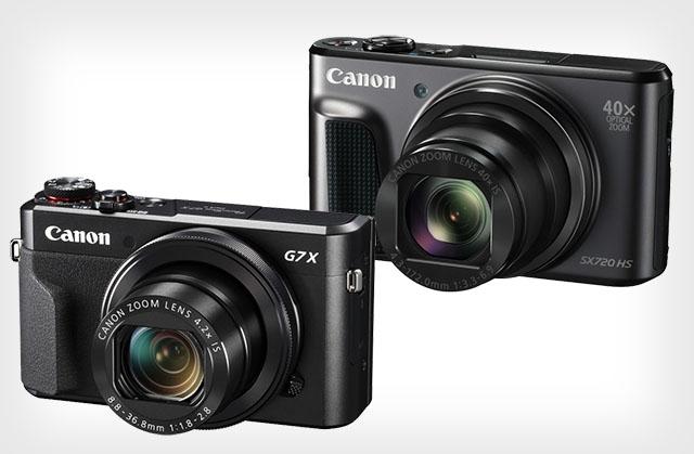 """Canon ra mắt 2 dòng máy """"du lịch"""" mới: G7 X Mark II và SX720 HS"""