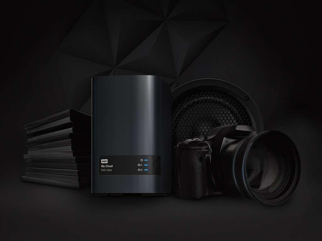 WD giới thiệu NAS 2 khay đĩa My Cloud EX2 Ultra nhắm đến người dùng chuyên nghiệp