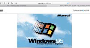 Windows 95 được một sinh viên 19 tuổi hồi sinh, có thể chạy trên trình duyệt web