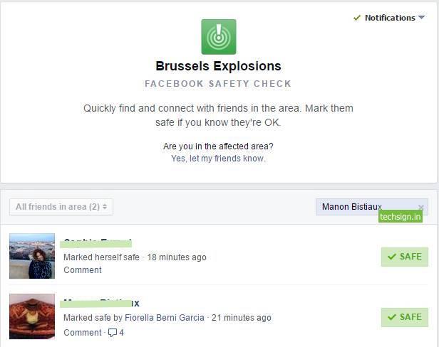 Facebook vừa mở lại Safety Check sau 3 vụ nổ liên tiếp ở Bỉ