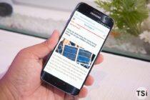 Ảnh và video thực tế Samsung Galaxy S7