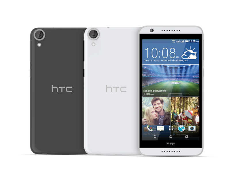 HTC giới thiệu Desire 820+ dual sim giá 4 triệu: màn 5,5 inch HD, camera trước 8MP