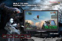 ViewSonic giới thiệu dòng màn hình chơi game VX57 cho game thủ