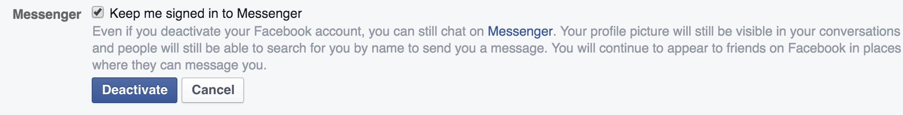 Facebook Messenger cho phép dùng liên kết ngắn để gửi tin