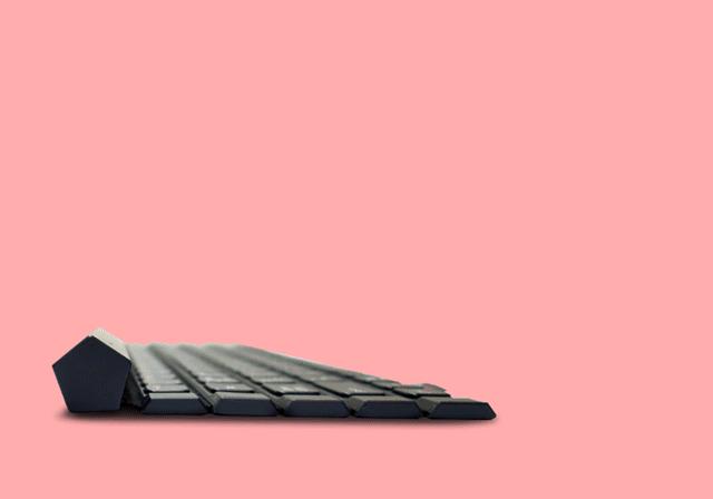 LG ra mắt Rolly Keyboard 2: cuộn thành hình 5 cạnh, 5 hàng phím, dùng 1 pin AAA