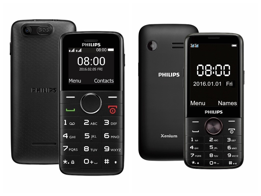 Philips E220 và E330 ra mắt giá 900 và 1,3 triệu, dành cho người lớn tuổi và cần pin lớn