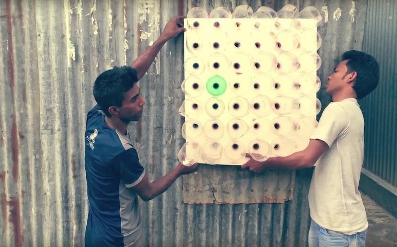 Người dân Bangladesh lắp hệ thống điều hòa không dùng điện, giảm được 5 độ so với ngoài trời