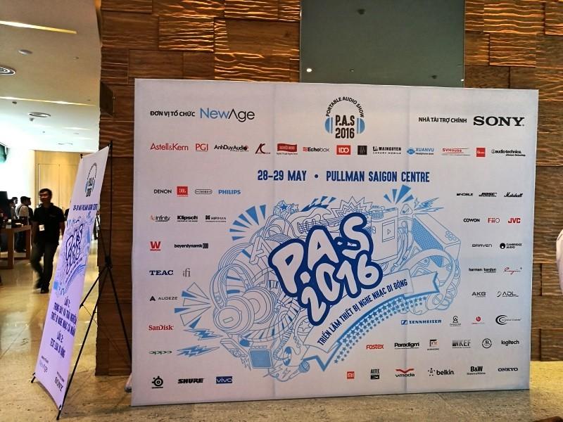 Một vòng tại triển lãm PAS 2016