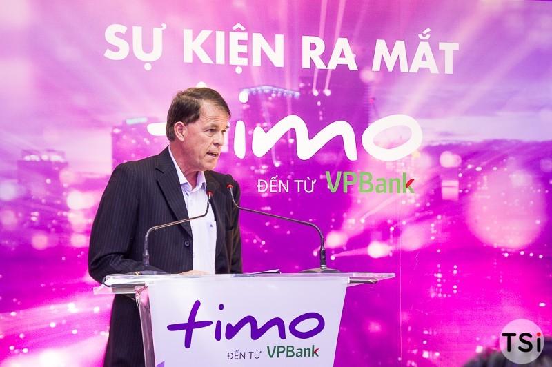 VPBank ra mắt dịch vụ ngân hàng số Timo