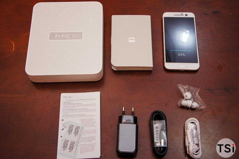 Ảnh mở hộp HTC 10 bản chính thức