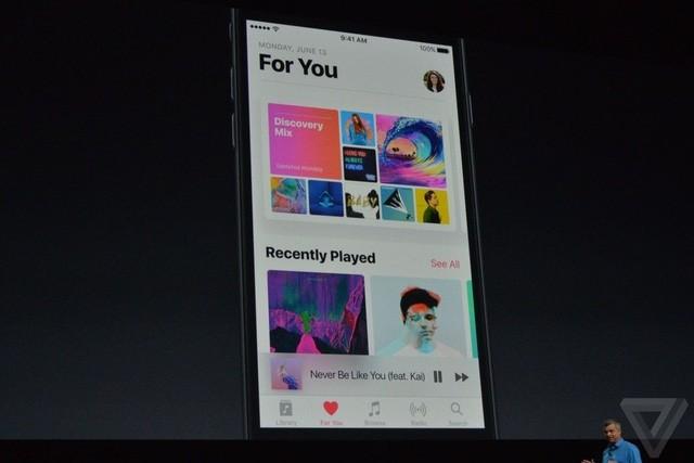 Apple Music mới: giao diện gọn hơn, tiện dụng hơn, có lời bài hát