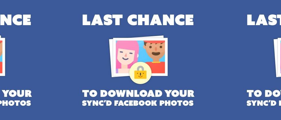 Nếu không tải Moments, Facebook sẽ xóa ảnh đồng bộ của bạn