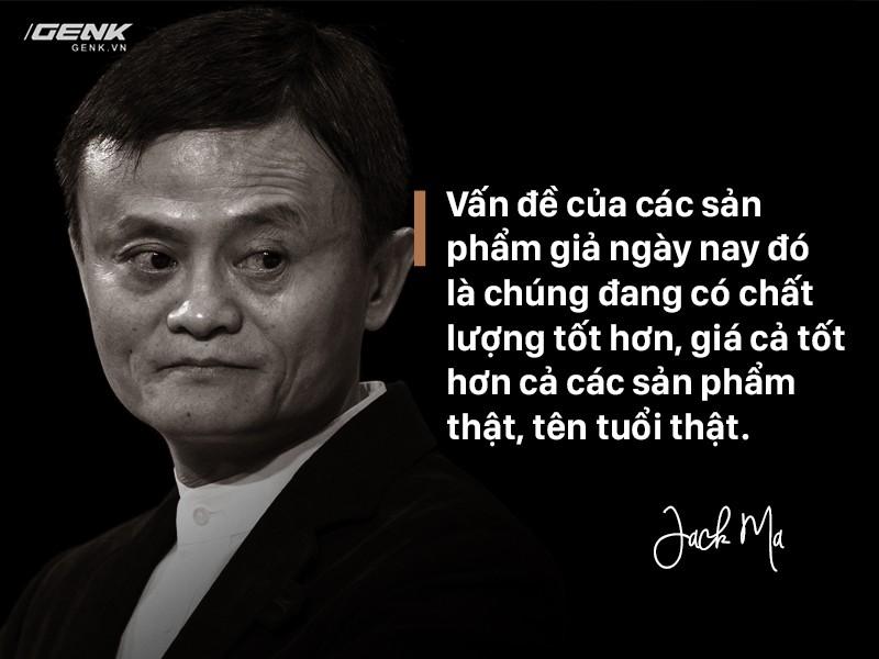 """Jack Ma """"Hàng giả do Trung Quốc sản xuất giờ còn tốt hơn cả hàng thật"""""""