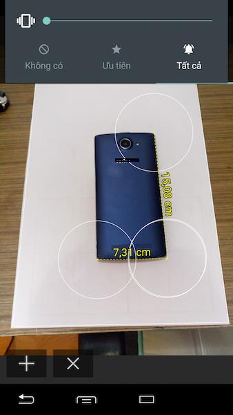 TakeMeasure: Đo kích thước đồ vật bằng máy ảnh smartphone