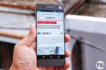 Mở hộp Sony Xperia XA - smartphone 6,9 triệu bán tại FPT Shop