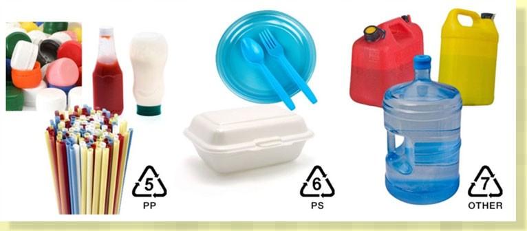 Nhận biết loại nhựa an toàn cho sức khoẻ bằng những con số dưới đáy hộp