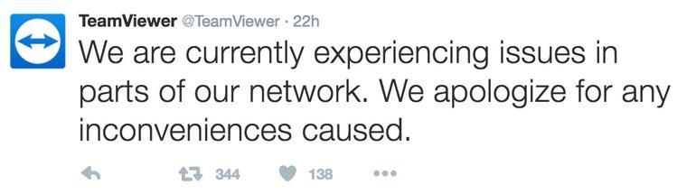 TeamViewer bị tấn công DoS, người dùng phàn nàn bị đánh cắp thông tin cá nhân