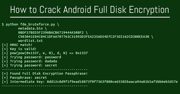 Bẻ mã hóa bộ nhớ trên Android chạy Qualcomm khá đơn giản và đã có hướng dẫn đầy đủ