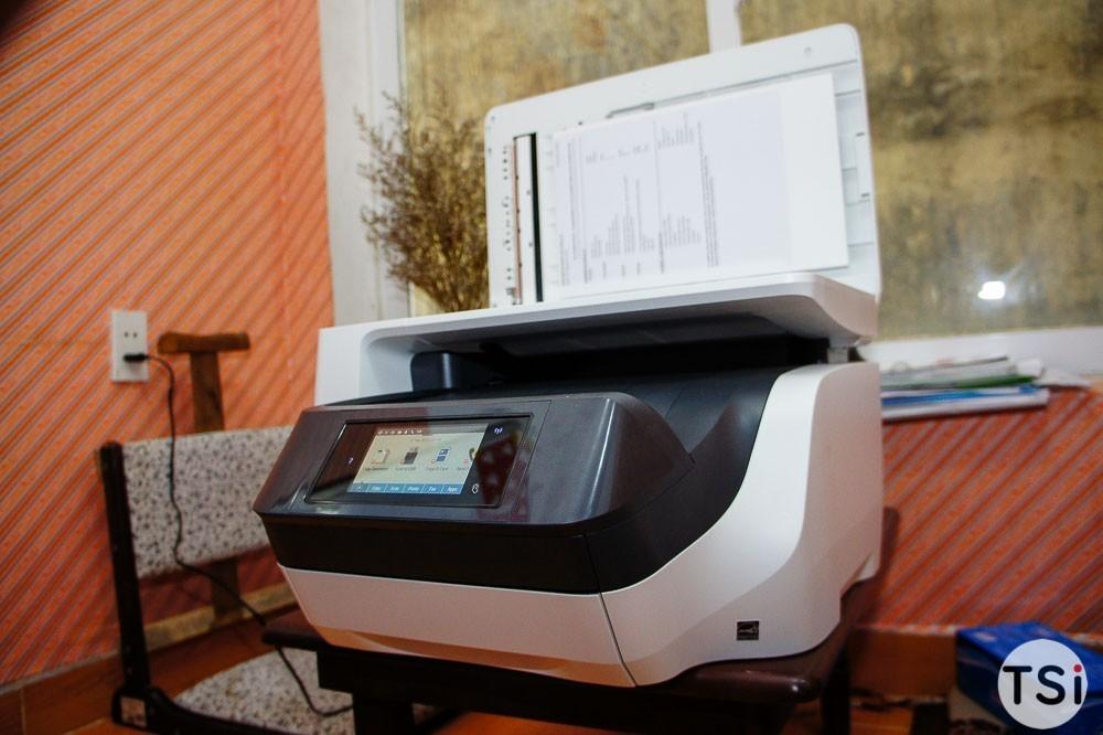 Đánh giá HP Office JetPro 8720: máy in phun AIO lý tưởng cho văn phòng