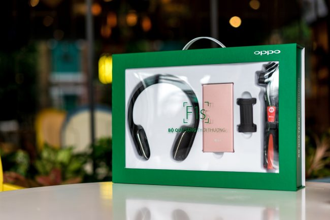 Sắp mở đặt hàng Oppo F1s tặng quà hơn 2 triệu đồng