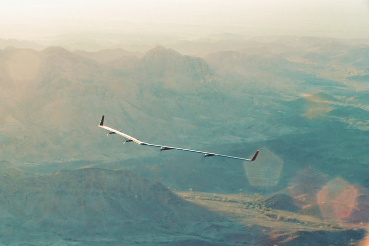 Máy bay dùng năng lượng mặt trời của Facebook lần đầu bay thử nghiệm