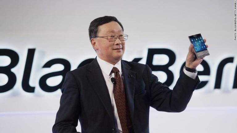 John Chen: BlackBerry sẽ giới thiệu 2 smarpthone vào tuần tới