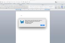 Sửa lỗi không lưu được file MS Office trên máy MAC