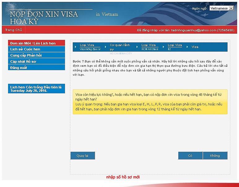 Gia hạn visa Mỹ qua đường bưu điện, không cần đến lãnh sự quán phỏng vấn