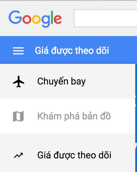 Theo dõi giá vé máy bay với Google Flights