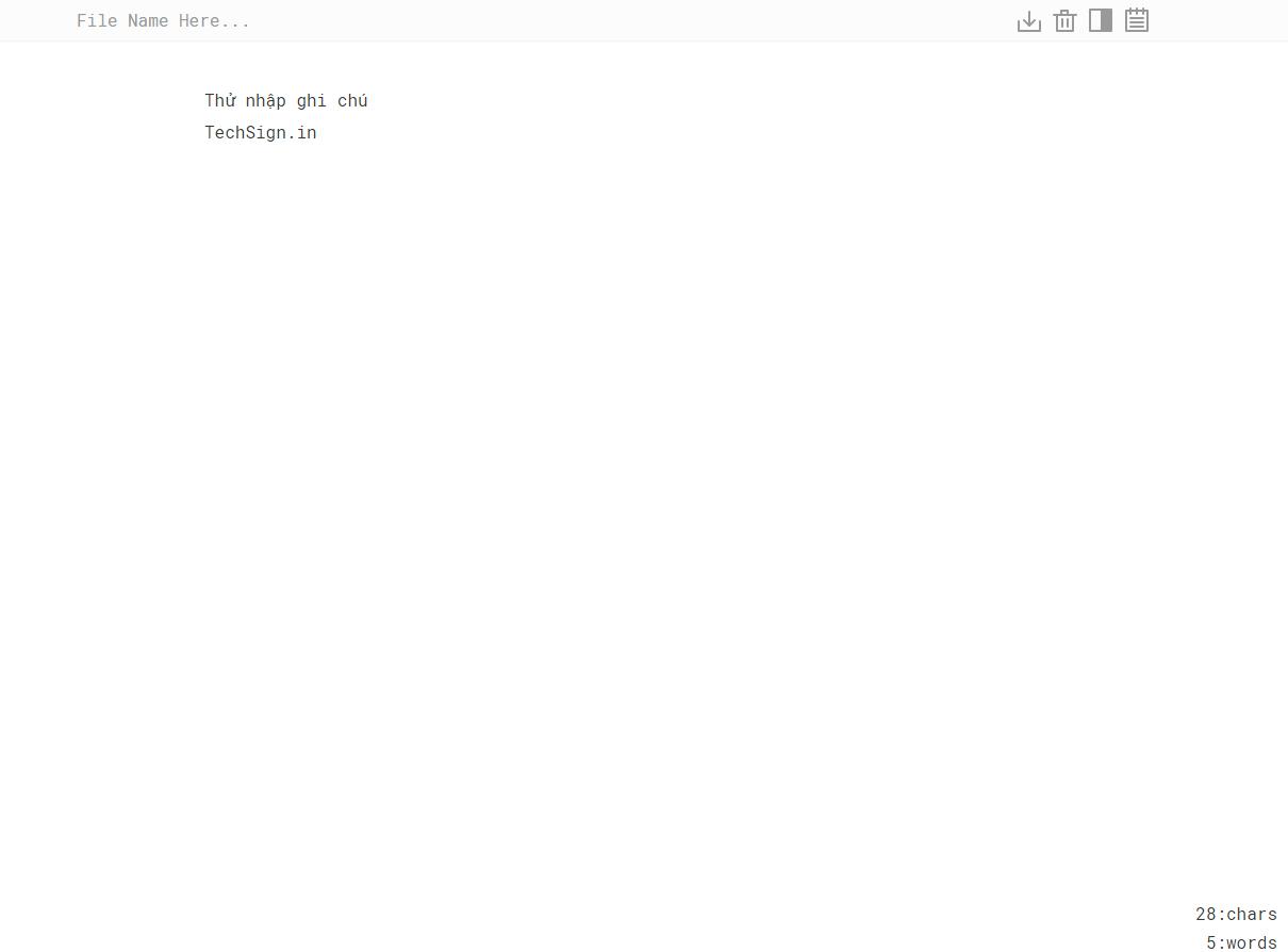 Ghi chú ngay trên trình duyệt bằng TextPad