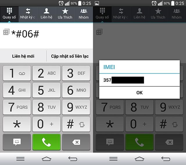 Kiểm tra IMEI và thời hạn bảo hành cho mọi loại điện thoại